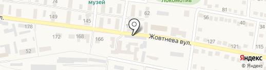Линда Техно Сервис на карте Ясиноватой
