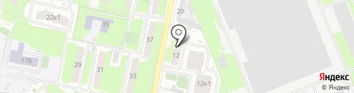 Ателье по ремонту одежды на проспекте Мира на карте Реутова