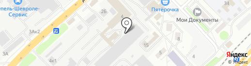 Заводские двери на карте Котельников