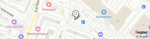 Киоск по ремонту обуви и изготовлению ключей на карте Котельников