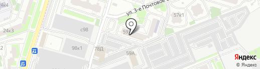 Тендокан-додзё на карте Люберец