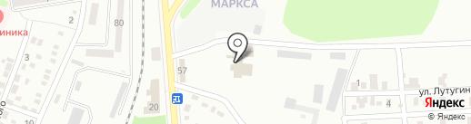 Малиновка на карте Макеевки