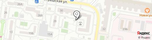 Угрешская, 30, ТСЖ на карте Дзержинского