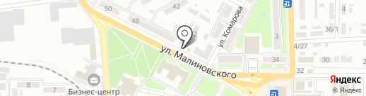 Relief на карте Макеевки