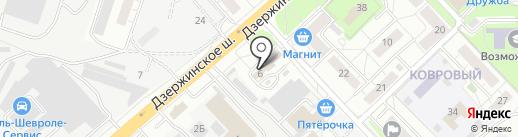 Фанагория на карте Котельников