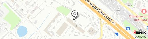 Центр лицензионно-разрешительной работы на карте Котельников