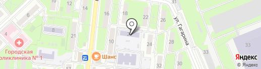 Детский сад №1, Ёлочка на карте Реутова