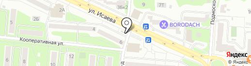 Магазин мороженого на карте Королёва