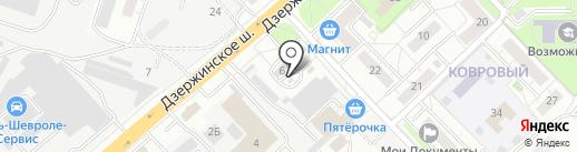 Яблонька на карте Котельников