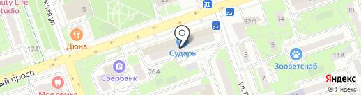 MSK-SOS на карте Реутова