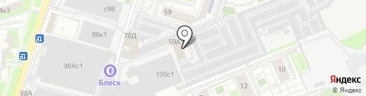 ОХОТОМОРЬЕ на карте Люберец