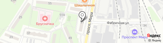 Подъем-1 на карте Реутова