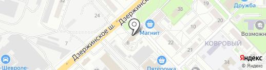 Красное & Белое на карте Котельников