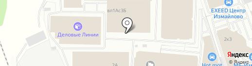Эльфа на карте Балашихи