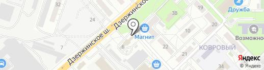 Магазин фастфудной продукции на карте Котельников