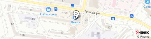 Магазин мясной продукции на карте Дзержинского