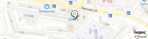 ИмПульс на карте Дзержинского