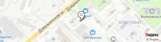 Магазин мясной продукции на карте Котельников