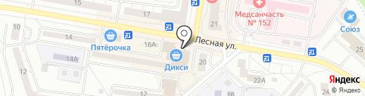 Белый кот на карте Дзержинского
