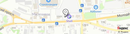 Пивной трактиръ на карте Старого Оскола