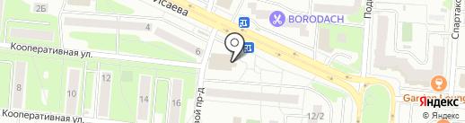 Ювента на карте Королёва