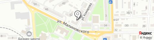 Банкомат, КБ ПриватБанк, ПАО на карте Макеевки