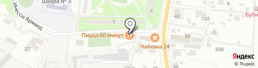 Ветерок на карте Пушкино