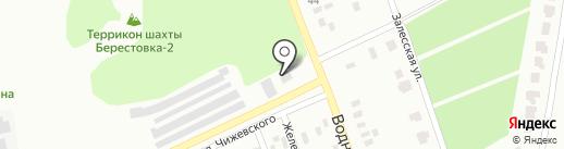 АЗС Интер на карте Макеевки