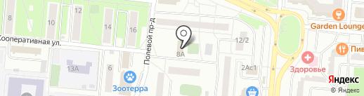 ОДС по обслуживанию лифтов на карте Королёва