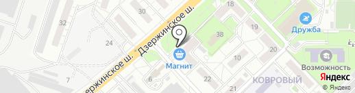 Первая полоса на карте Котельников