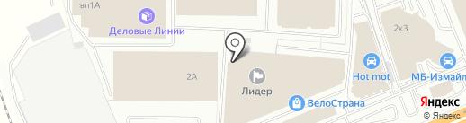 Ларец Чудес на карте Балашихи