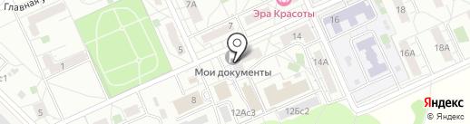 Совет депутатов муниципального округа Восточный на карте Восточного