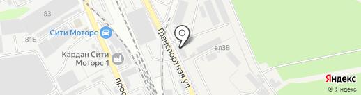 Мосмет на карте Реутова