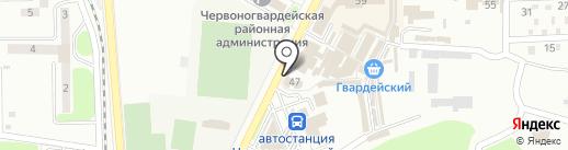 Вертекс на карте Макеевки