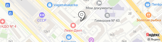 Street Pizza на карте Люберец