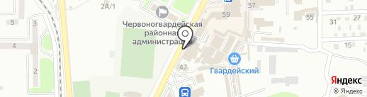 Modis на карте Макеевки