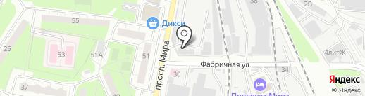 Мет Альянс на карте Реутова