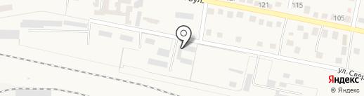 Ясиноватская дистанция сигнализации и связи, ГП Донецкая железная дорога на карте Ясиноватой