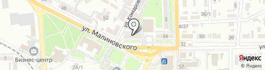 УЮТ на карте Макеевки
