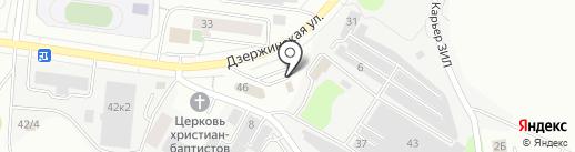 Финист на карте Дзержинского