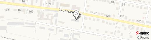Телефонная телеграфная станция в г. Ясиноватой на карте Ясиноватой