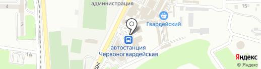 EGOISTKA на карте Макеевки