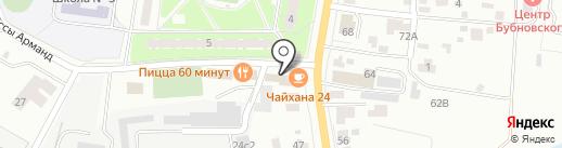 Джемма на карте Пушкино