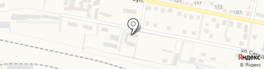 Ясиноватская дистанция сигнализации и связи на карте Ясиноватой