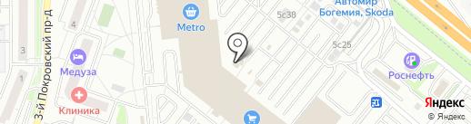 Компания по ремонту электро и бензоинструмента на карте Котельников