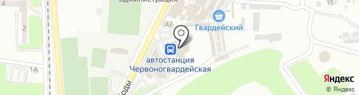 Магазин табачной продукции на карте Макеевки