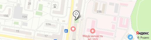 Приятель на карте Дзержинского