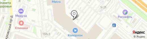 Шантимэль на карте Котельников
