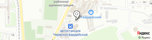 Линкор на карте Макеевки