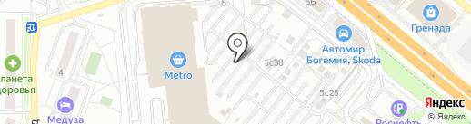 Эдем Хаус на карте Котельников
